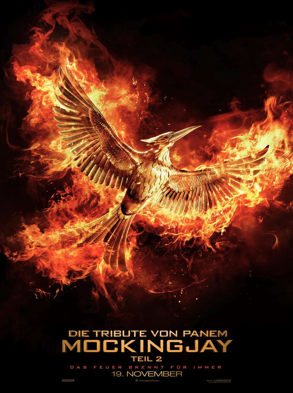 DIE TRIBUTE VON PANEM MOCKINGJAY